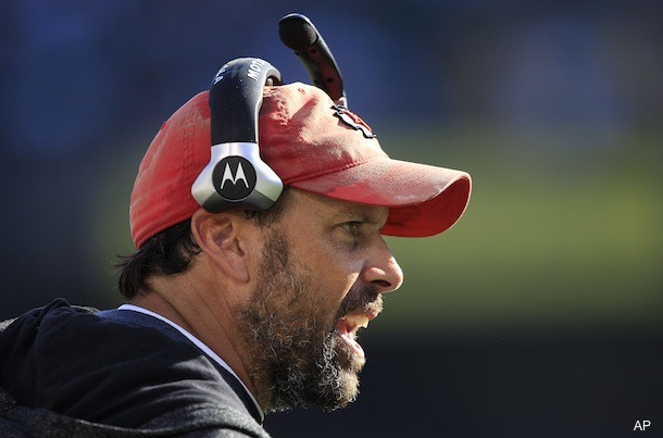Chiefs coach Todd Haley isn't shaving until the team loses