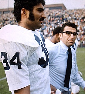 Franco Harris stands by his old coach, and loses his new job