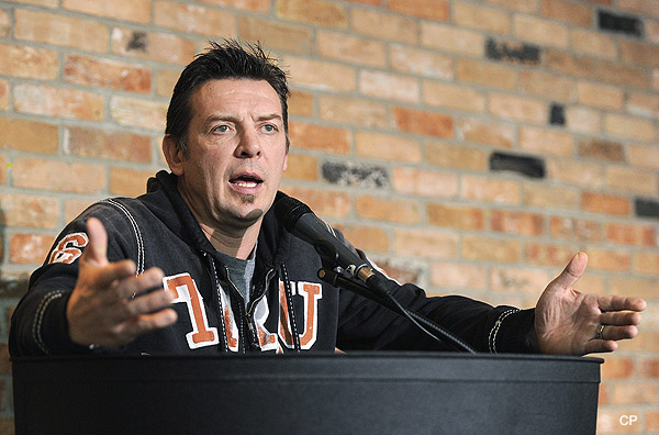 Theo Fleury strongly rejects claim he 'enabled' Graham James