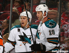 The San Jose Sharks' cult of faceoff aces
