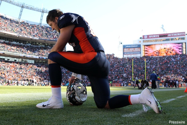 Tim Tebow's pastor says God is the reason Broncos are winning