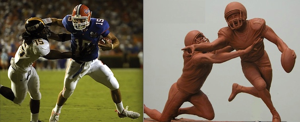 Own a life-sized, bronzed Tim Tebow statue for just $12,000