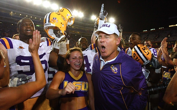 Debriefing: Another year, another charmed existence for LSU?