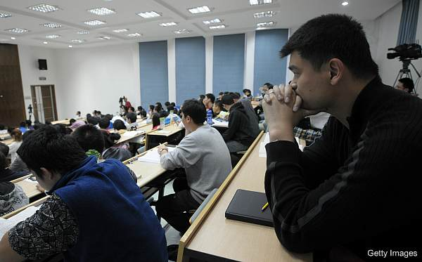 Days of NBA Lives: Wherein Yao Ming is getting his degree