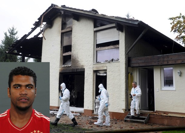 Bayern defender arrested on suspicion of setting his house on fire