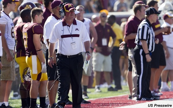 Jerry Kill said he's not coaching Saturday, but his stand-in isn't so sure