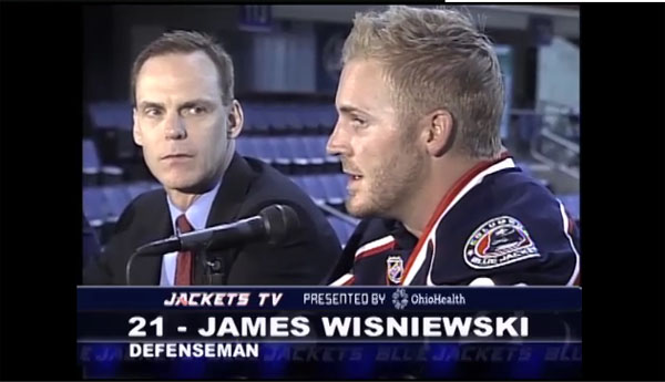 Jeff Carter, James Wisniewski and avoiding the misery of losing
