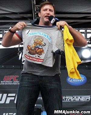 Bonnar comes clean with Koscheck after UFC 139 win