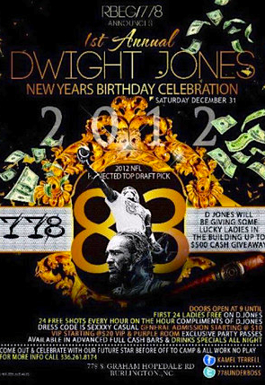 1st Annual Dwight Jones New Years Birthday Celebration