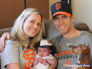 Tiny Giants fan awarded title of 'World Championship Baby'