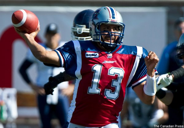 Anthony Calvillo, pro football's passing leader—and he's ours