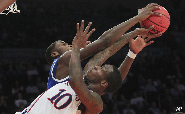 Kentucky loss shows that Kansas could have tough road ahead