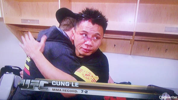 Photo: Check out Cung Le's mangled nose