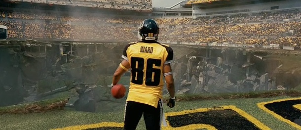 Hines Ward has a cameo in new trailer for 'The Dark Knight Rises'