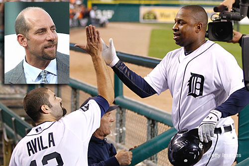Tigers' Young makes Smoltz look psychic with first-pitch home run