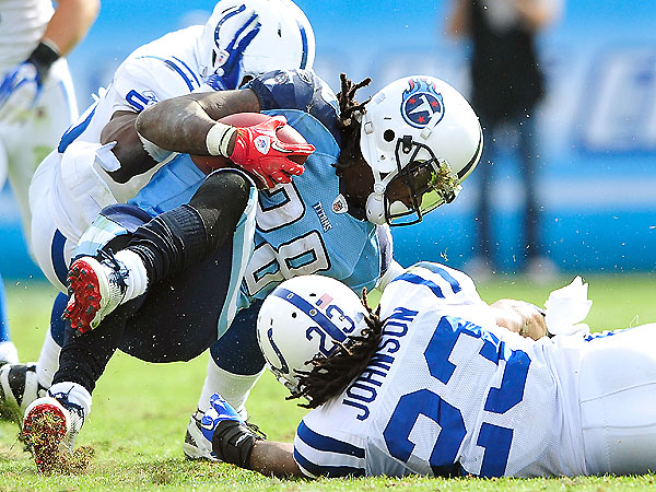 Sunday Scene, Week 8: Chris Johnson, toxic fantasy asset