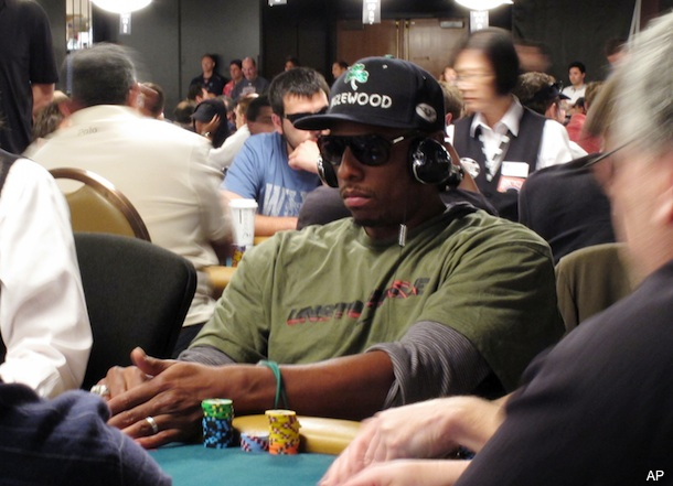 Paul Pierce is doing surprisingly well at the World Series of Poker