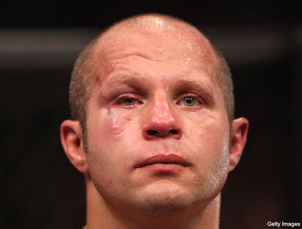 Fedor Emelianenko Fails Another Test