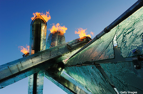 Vancouver will reignite Olympic cauldron to support Canucks