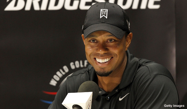 Tiger Woods confirms his knee problems are no longer an issue
