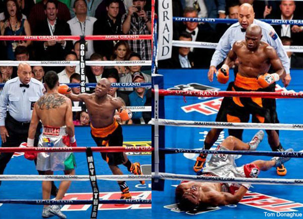 'Pacman' says Mayweather was unsportsmanlike, 'Money' unapologetic