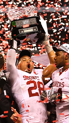 The first phase of Oklahoma's title run will go on without its best defensive player