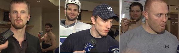 Team Mangold vs. Team Kesler: Who is master of the Photobomb?
