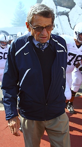 At the beginning of the wrong goodbye for Joe Paterno
