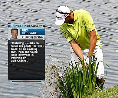 Golf Channel will debut Twitter-feed broadcasting this weekend