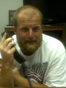 Will Goggans' beard continues to amuse and amaze at Troy