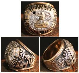 Rashaan Salaam is auctioning off his Heisman ring