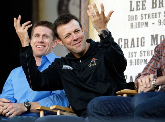 Tony Stewart wins the NASCAR 'Newlywed' Game, of course
