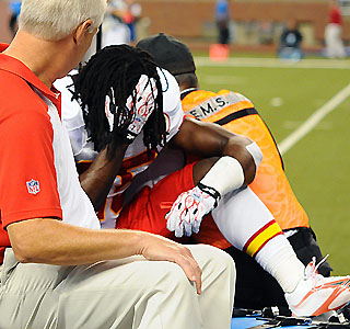Sunday Scene, Week 2: Jamaal Charles injured as losses continue for KC