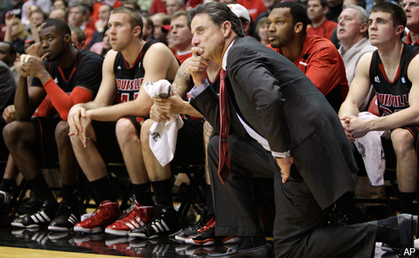 Pitino half-jokingly claims Big East schedule set 'with a ouija board'