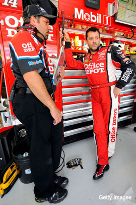 Tony Stewart crew chief Darian Grubb: Win on Sunday, fired on Monday?