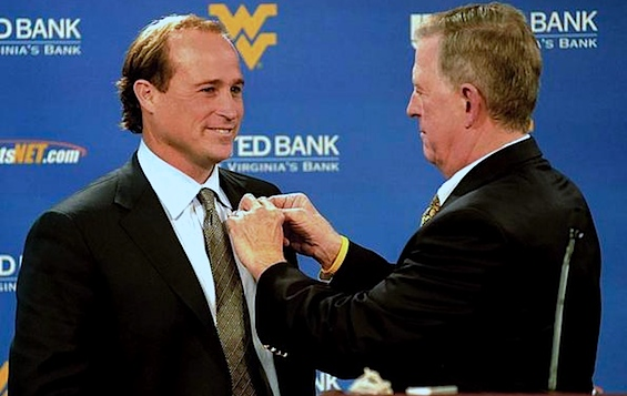 Bill Stewart is out at West Virginia, as suddenly and strangely as he came in