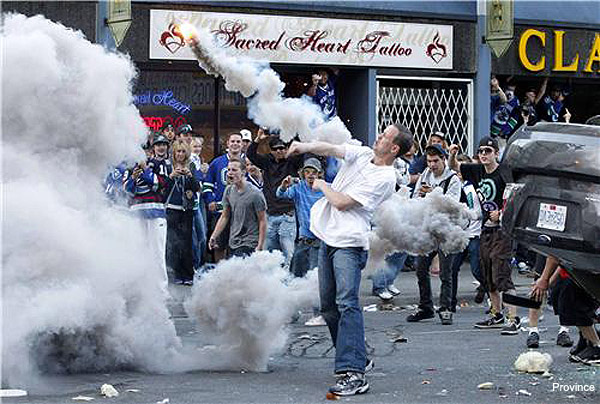 Gallery: Shocking scenes from the Vancouver Game 7 riots