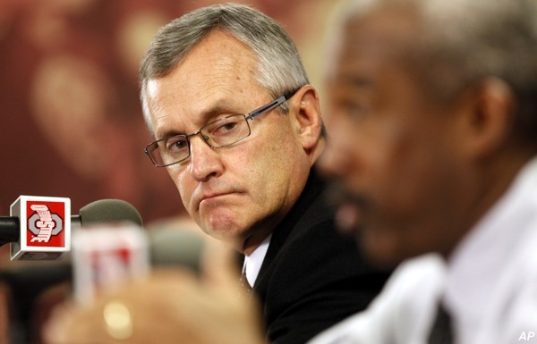Ohio State AD admits asking for Tressel's resignation