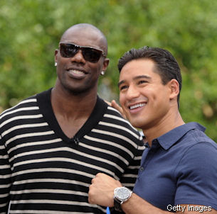 The Titans are open to the idea of employing Terrell Owens