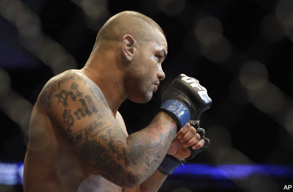 Thiago Alves blows weight on first try for UFC 138