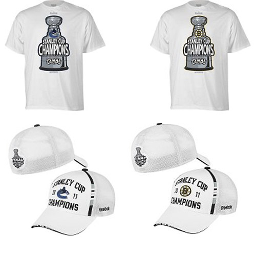 First look: Your 2011 NHL Stanley Cup champions gear