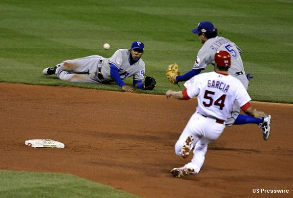 Rangers' Andrus and Kinsler save the day with defensive gems