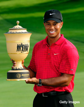 Tiger Woods returns to action this week at Firestone
