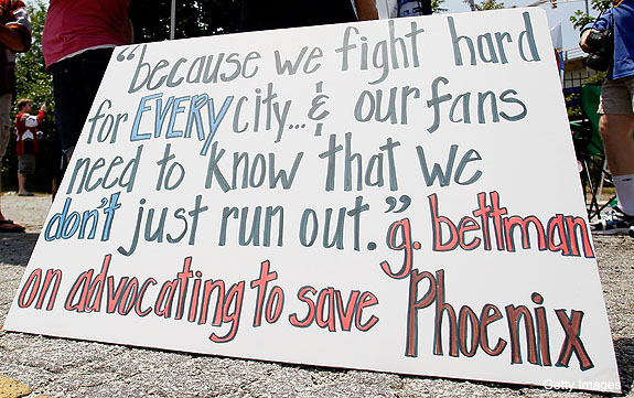 Escaping the Phoenix Coyotes: New owners and the out clause