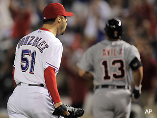 ALCS Game 1: Rangers relievers secure 3-2 win