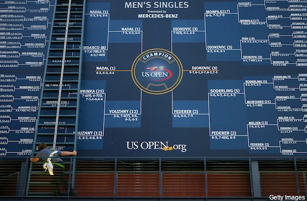 Is the U.S. Open draw rigged for the top two players?