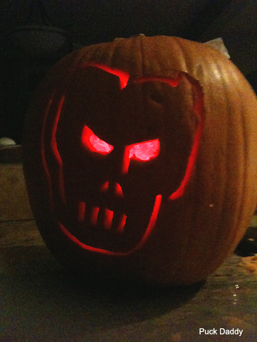 Puck Daddy Hockey Halloween: Pumpkins of puck