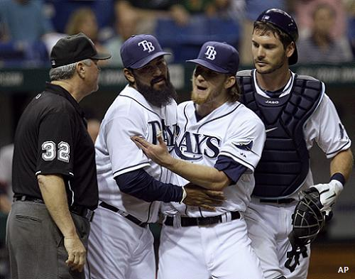 More fireworks: Four Rays get tossed in wild eighth inning argument