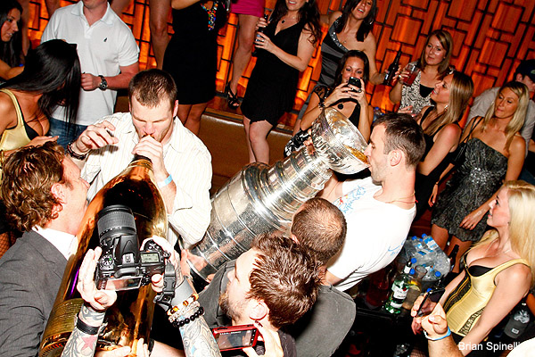 Bruins celebrated Stanley Cup with $100,000 champagne