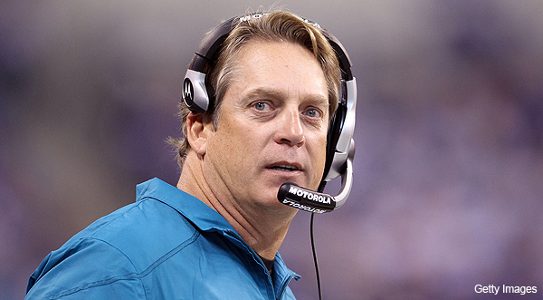 Jaguars fire head coach Jack Del Rio